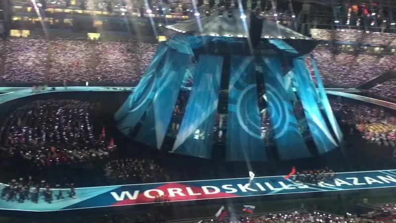 WorldSkills Kazan 2019 Open ceremony