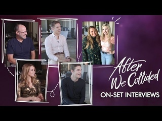 After We Collided set interviews: Jo Langford, Hero Fiennes Tiffin, Dylan Sprouse, Anna Todd, Kumble