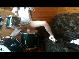 Laruna mave dildo riding on drums [pornhub, anal, teen, секс, порно, домашнее, любительское, подростки, анал, фулл]