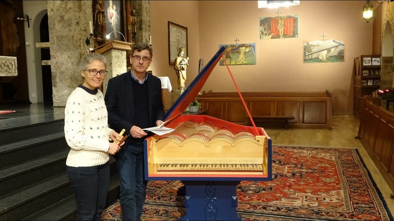 Fissure Flute and Viola organista world premiere