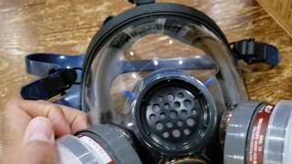 Strong ST-S100X-3 Organic Gas Mask Review