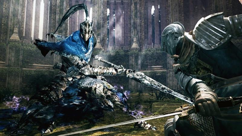 Dark Souls Knight Artorias Boss Fight 4K 60fps