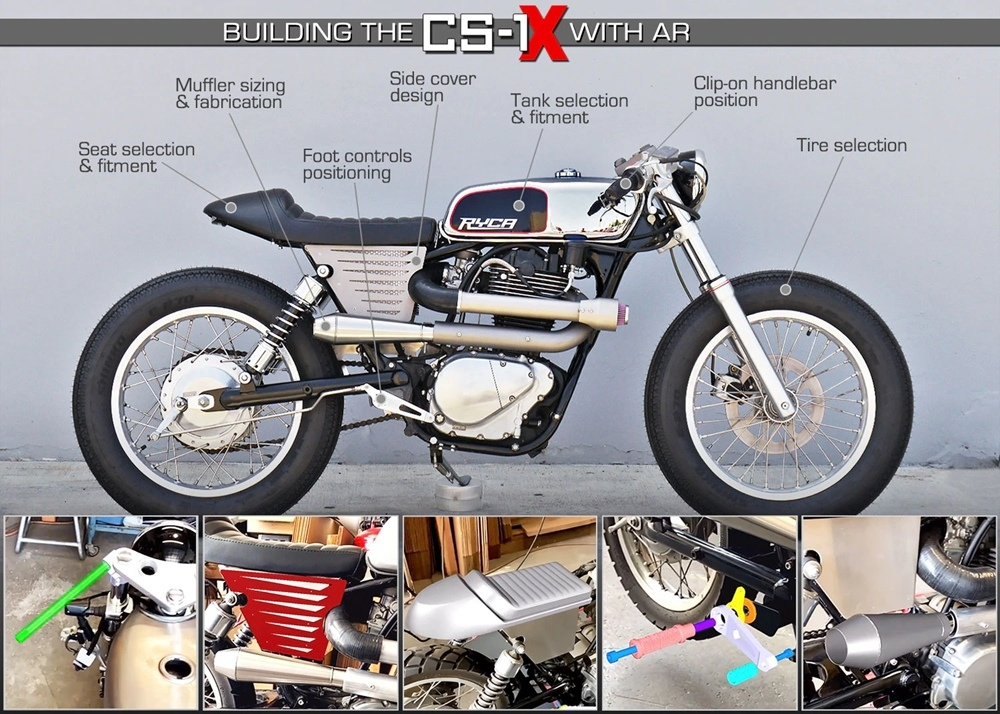 Мотоцикл Ryca Motors CS-1X  10th Anniversary