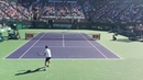 Tsonga vs Fognini Indian Wells - Courtside