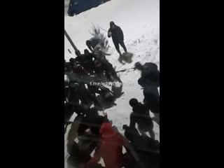Массовая драка в Зеленодольске
