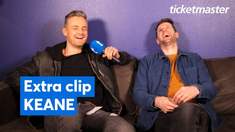 Extra clip Keane Ticketmaster Interview