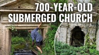 This Church Is Sunken Into The Ground (Ancient Temple Ruin)
