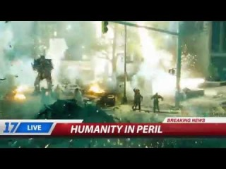 """TRANSFORMERS: AGE OF EXTINCTION - Official """"The Fall Of Chicago"""" Viral Video (2014) [HD]"""