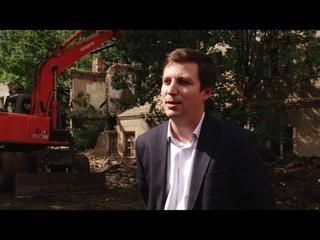 В Кирове продолжается снос аварийных многоквартирных домов.