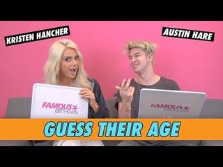 Kristen Hancher vs. Austin Hare - Guess Their Age
