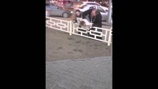 Священник избил бизнесмена крестом в центре Новосибирска