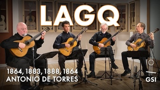 """Georges Bizet's """"Habanera"""" played by the LAGQ on 4 Antonio de Torres (including all 3 ex. Tárrega)"""