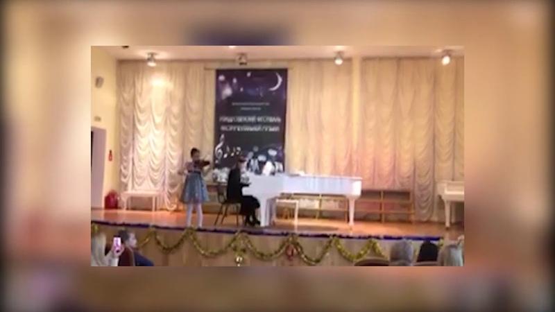 Василина Седова. Боккерини « Менуэт». 10 лет. Инструментальное мастерство. Владивосток