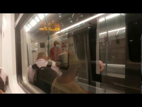 Метро София- Новата Линия 3 Хаджи Димитър- Красно Село  New Metro Line 3 in Sofia- Siemens Inspiro