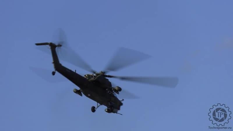 Вертолетная пилотажная группа Беркуты