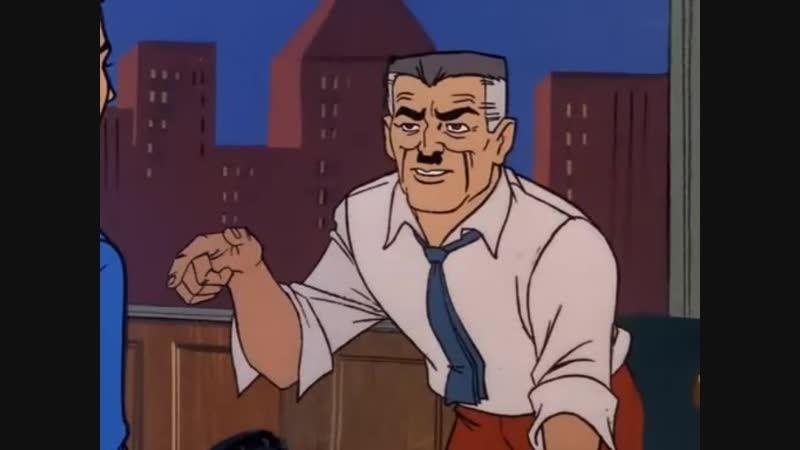 Сезон 01 Серия 01: Сила Доктора Осьминога. Суб-ноль для Паука | Настоящий Человек-Паук (1967 – 1970) / Spider-Man