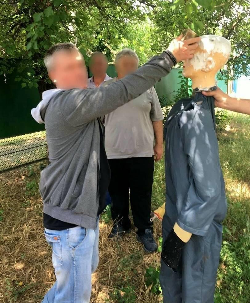 Следственный эксперимент по убийству 10 мая 2020 года в Кореновске