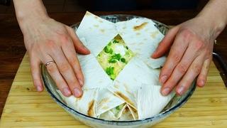 Век живи - Век учись! Соседка Армянка поделилась ещё одним замечательным рецептом из лаваша!