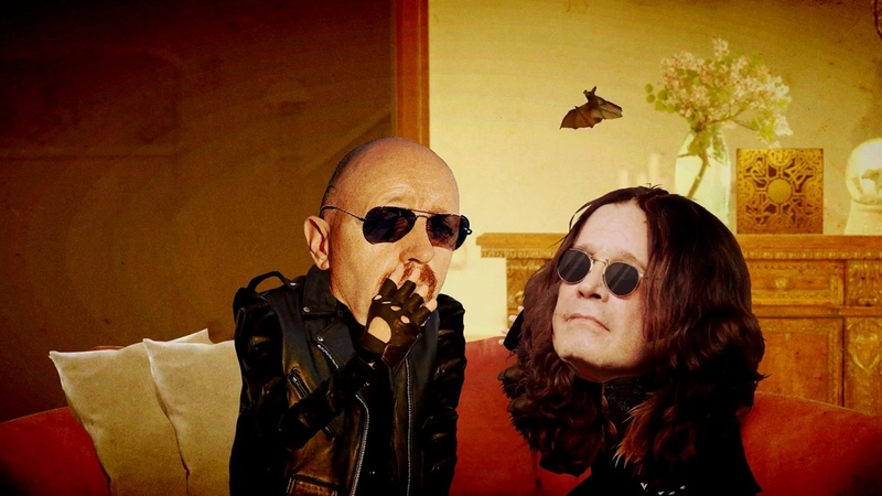 Rob Ozzy Jim Breuers ODD COUPLE, from The Metal In Me Podcast part 1