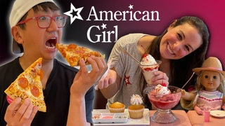 We Eat EVERYTHING at The American Girl Cafe