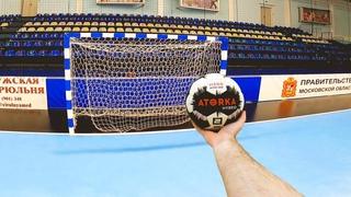 Гандбол от первого лица | Тренировка | Handball training first person | «Чеховские медведи»