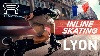 FR SKATES - FReeride SKATING in LYON, France with Sylvain Behr and friends