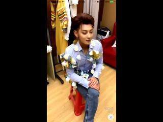 [live] 170608 'happy camp' recording backstage ztao's app stream @ ztao