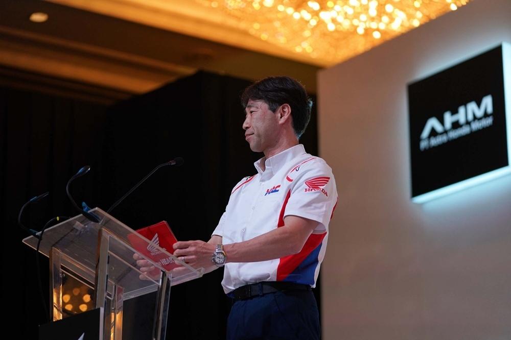 Презентация команды Repsol Honda 2020 - стандартные цвета