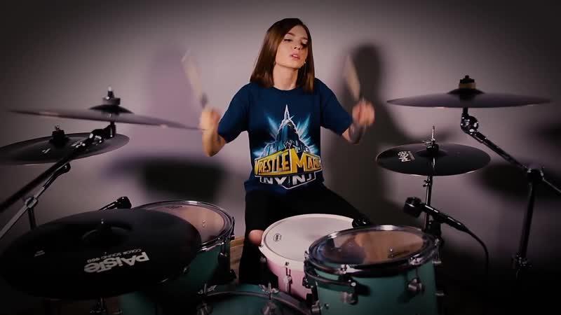 Bring Me The Horizon - Sleepwalking (Drum Cover by Kristina Rybalchenko)