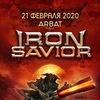 21.02 IRON SAVIOR (DE) | Moscow @ Arbat Hall