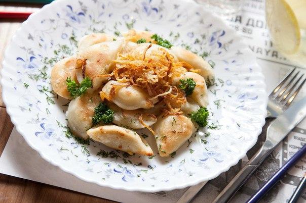 Жареные вареники с картошкой  Вкуснее