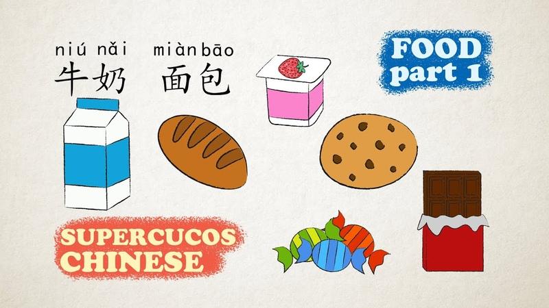学中文 食物 Part 1 Learn Chinese Food Aprender Chino La Comida