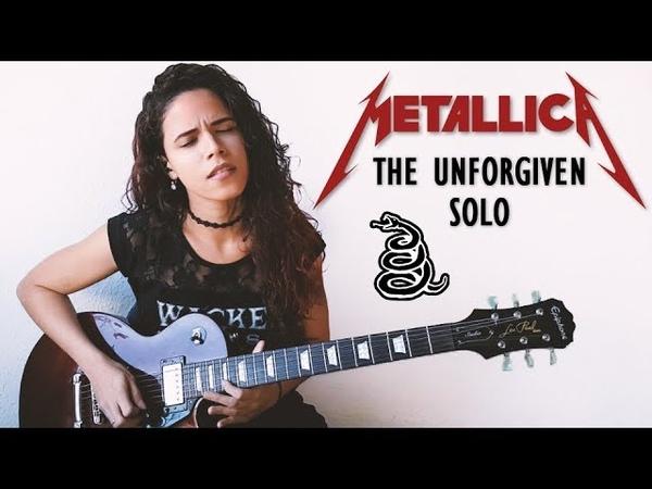 Metallica - The Unforgiven Solo Guitar Cover | Noelle dos Anjos