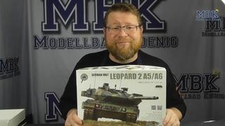 MBK packt aus #409 - 1:72 Leopard 2 A5/A6 (Border Model 7201)