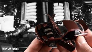 Старая открывашка BMW 850i E31 • Schabak • Масштабные модели автомобилей 1:43 • Сделано в Германии