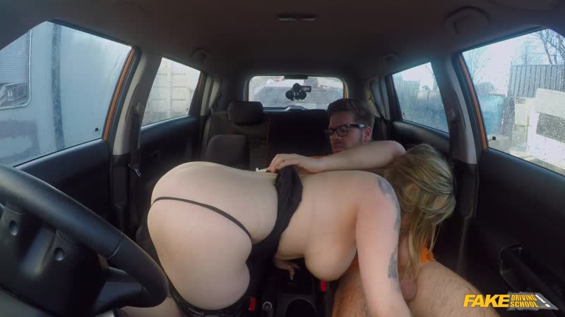 Fake Driving Madison Stuart 34 F Boobs Bouncing In Driving