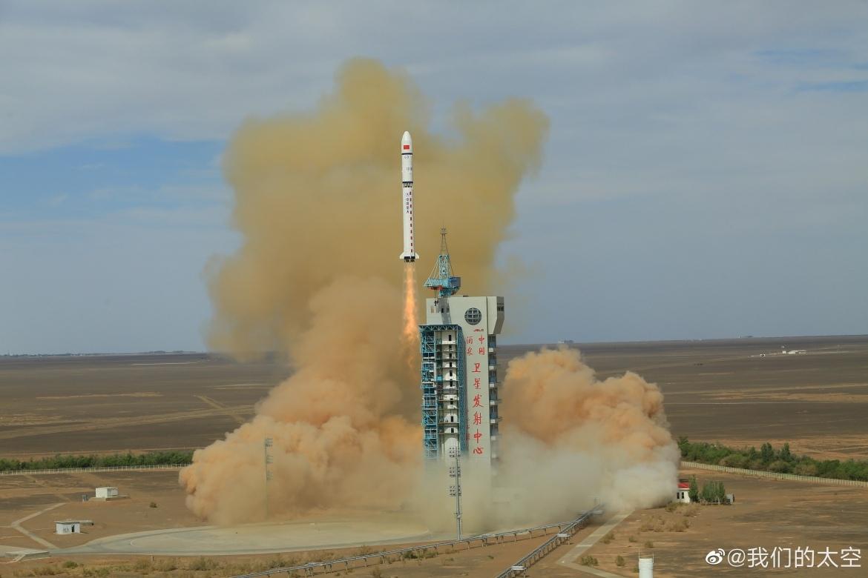 Long March 2D запускает Gaofen-9. NSF.