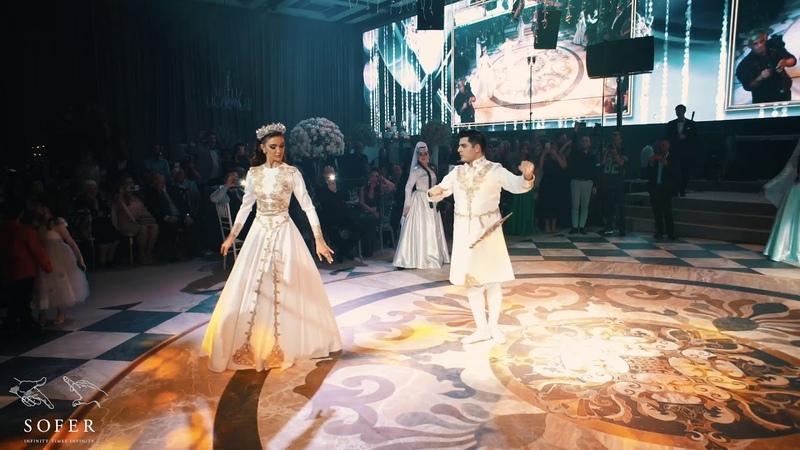 Michelle and Kobi Georgian wedding dance qartuli and Davluri მიშელ და კობის ქორწილი ცეკვა