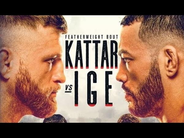 Кэлвин Каттар против Дэна Иге БОЙ В UFC 3 UFC FIGHT NIGHT
