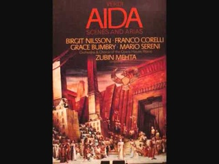 "Aida ""La fatal pietra"" Franco Corelli Birgit Nilsson Roma Opera House 1968"