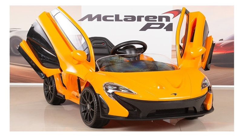 Unboxing and assembly of LICENSED Mclaren P1 Kids Electric New Arrival Ride on | Mon ToysReview