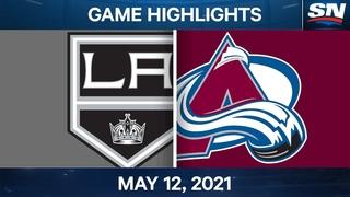 NHL Game Highlights | Kings vs. Avalanche - May 12, 2021