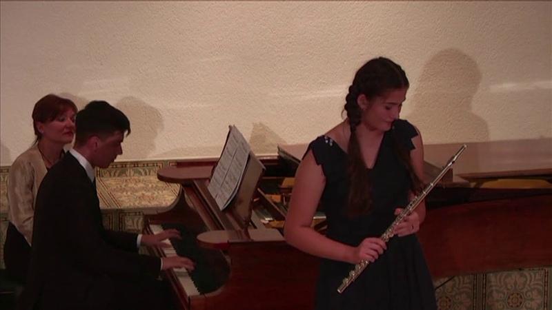 F Morlacchi Il pastor svizzero Taisia Kovtunova flauto Timofey Kalmykov piano