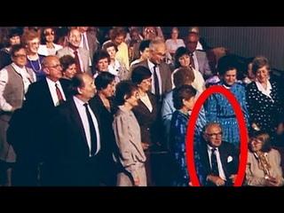 Люди сразу встали в зале, когда поняли кто сидит рядом! Он спас 669-детей и никому об этом не СКАЗАЛ