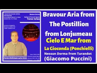 2 Houston Grand Opera - Postillion Bravour, Nessun Dorma, Cielo e Mar (Florian Stollmayer Tenor)