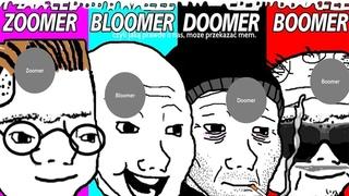 Кто Такие Думеры, Бумеры, Зумеры и Блумеры + Кумеры, Simp, Chad