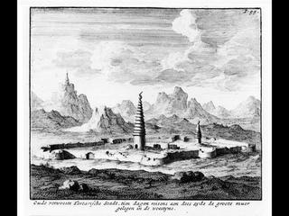 Руины древних городов Сибири