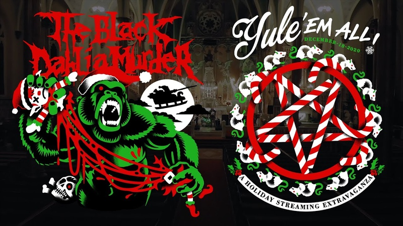 The Black Dahlia Murder - Sunless Empire - from the Yule Em All stream on December 18, 2020