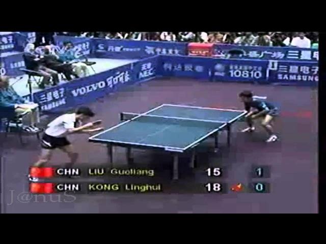 1995 WTTC Kong Linghui--Liu Guoliang