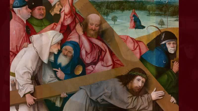 Иероним Босх 1450 1516 Несение креста 1505